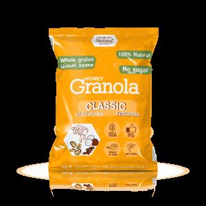 Гранола Класична, саше, Оats & Honey, 1 упаковка (15 шт по 40 г)