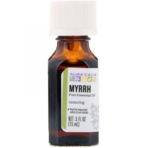 Эфирное масло мирры (Myrrh), Aura Cacia, 100% чистое, 15 мл (Default)