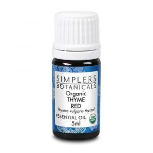 Эфирное масло тимьяна красного, Organic Thyme Red, Simplers Botanicals, 5 мл