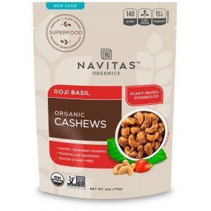 Энергетическая закуска на основе кешью, Superfoods+, Navitas Naturals, 112 г (Default)