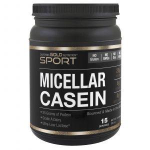 Міцелярно казеїн, MC 88, California Gold Nutrition, 454 г