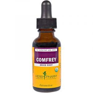 Окопник, экстракт корня, Comfrey, Herb Pharm, органик, 30 мл