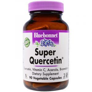 Кверцетин (Super Quercetin), Bluebonnet Nutrition, 90 капсул (Default)