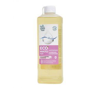ЭКОмыло жидкое оливково-ланолиновое, Green Max, 400 мл