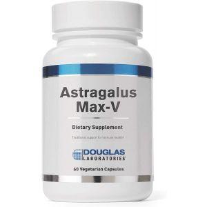 Астрагал, иммунная поддержка, Astragalus Max-V, Douglas Laboratories, 60 капсул