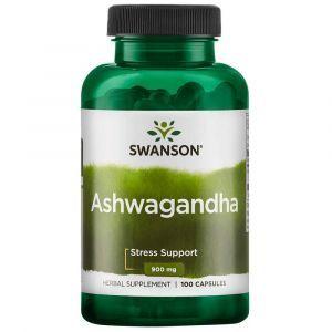 Ашвагандха, экстракт корня, Ashwagandha, Swanson, 450 мг, 100 капсул