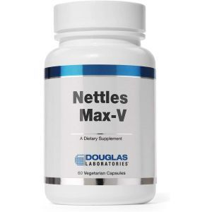 Экстракт крапивы, поддержка простаты, Nettles Max-V, Douglas Laboratories, 60 капсул