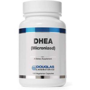 ДГЭА, поддержка иммунитета, мозга, костей, обмена веществ и СМТ, DHEA, Douglas Laboratories, 50 мг, 100 капсул