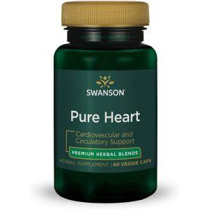 Поддержка сердечно-сосудистой системы, Ultra Pure Heart, Swanson, 60 вегетарианских капсул