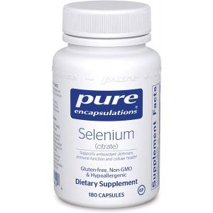 Селен (цитрат), Selenium (citrate), Pure Encapsulations, 180 капсул