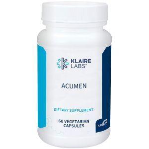 Экстракт Бакопа для мозга и памяти, Acumen, Klaire Labs, 60 вегетарианских капсул
