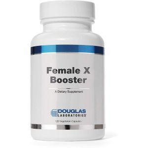 Адаптогены с L-аргинином и L-цитруллином для поддержки либидо, Female X Booster, Douglas Laboratories, 120 капсул