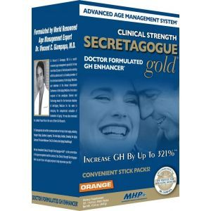 Секретагог, LLC, Secretagogue-Gold, Maximum Human Performance, 30 пакетов по 14,9 г. (Default)