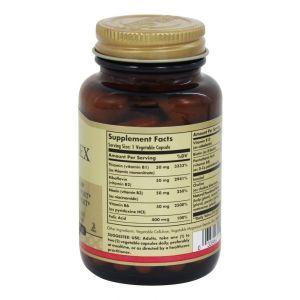 """Витамины В-комплекс, B-Complex """"50"""", Solgar, 50 капсул (Default)"""