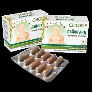 Лайфгард, укрепление иммунитета, Choice, 30 капсул