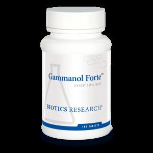 Феруловая кислота и смесь полифенолов, Gammanol Forte with FRAC , Biotics Research, 180 таблеток