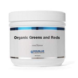 Смесь из овощей и фруктов, Organic Greens & Reds Powder, Douglas Laboratories, 240 г.