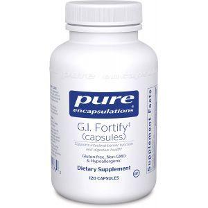 Поддержка работы ЖКТ и детоксикации, G.I. Fortify (Capsules), Pure Encapsulations, 120 капсул