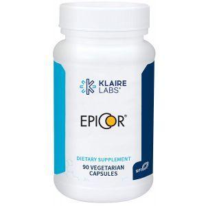 Эпикор, иммунная поддержка, EpiCor, Klaire Labs, 90 капсул