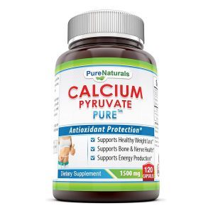 Кальций пируват, Calcium Pyruvate, Pure Naturals, 1500 мг, 120 капсул