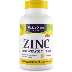 Цинк, Chelated Zinc, Carlson Labs, 30 г, 100 жевательных таблеток
