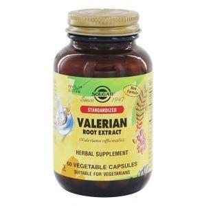 Валериана экстракт корня, Valerian Root Extract, Solgar, 60 вегетарианских капсул (Default)