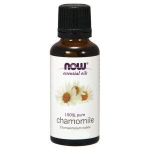 Масло ромашки эфирное, Essential Oils, Chamomile, Now Foods, 10 мл