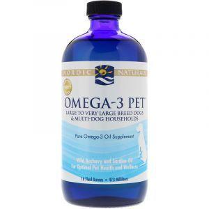 Омега-3 для собак, Omega-3 Pet, Nordic Naturals, 473 мл. (Default)