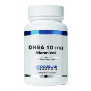 Дегидроэпиандростерон, DHEA, Douglas Laboratories, измельченный, 10 мг, 100 капсул (Default)