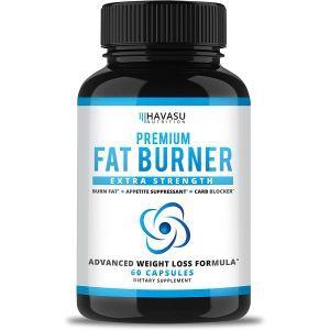 Жиросжигатель, Fat Burner, Havasu Nutrition, экстра сила, 30 капсул