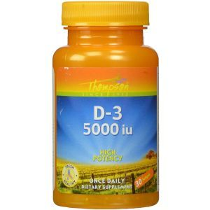 Витамин Д-3, Vitamin D3, Vital Nutrients, 10 000 МЕ, 60 вегетарианских капсул