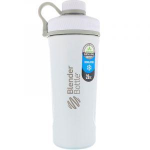 Бутылка-блендер, нержавеющая сталь с термозащитным покрытием, матовая белая, Blender Bottle, 770 мл (Default)