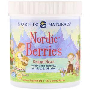 Витамины для детей, Multivitamin, Nordic Naturals, 120 конфет (Default)