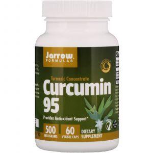 Куркумин 95, Curcumin, Jarrow Formulas, 500 мг, 60 капсул (Default)