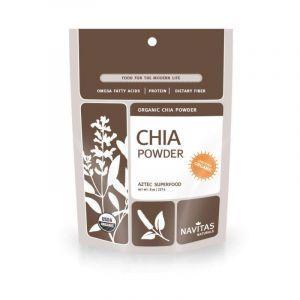 Порошок из семян чиа, Chia, Navitas Naturals, органик, 227 г