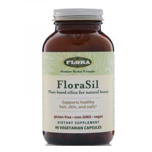 Ортокремниевая кислота (Orthosilicic Acid), Flora, 90 кап. (Default)