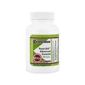 Kirkman Labs, Yeast-Aid Advanced Formula, 100 Capsules