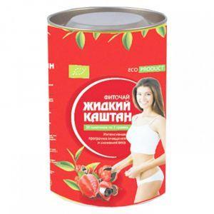 "Чай ""Жидкий каштан"", Shenzhen Hongsen Biology, 30 пакетов по 2 г"