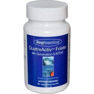 Фолиевая кислота, Allergy Research Group, 90 кап.