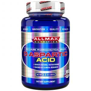 D-аспарагиновая кислота, D-Aspartic Acid, ALLMAX Nutrition, 100 г