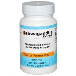 Ашваганда, Advance Physician Formulas, 500 мг, 60 кап
