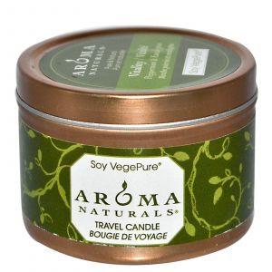 Свеча с эфирным маслом мяты перечной и эвкалипта, Aroma Naturals, 79,38 г