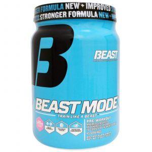 Предтренировочный коктейль, розовый лимонад (Pre-Workout), Beast Sports Nutrition, 533 г.