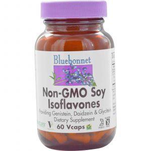 Соевые Изофлавоны, Bluebonnet Nutrition, 60 кап
