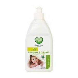 Средство для мытья детской посуды, Bio Dish Soap & Cleaner Baby Extra Sensetive, Planet Pure, 510 мл