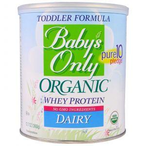 Детская смесь с протеином, Baby's Only Organic, Nature's One, 360 г