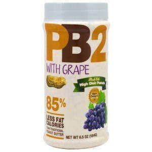 Арахисовое масло с виноградом, Powdered Peanut Butter with Grape, Bell Plantation, 184 г
