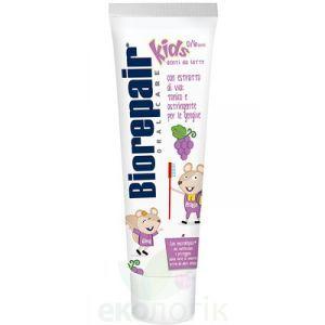 Детская зубная паста Веселый Мышенок, виноград, BioRepair, 50 мл