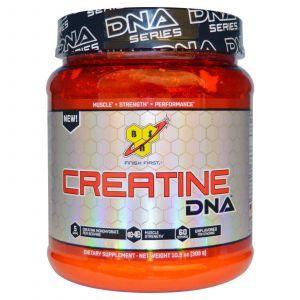 Креатин неприправленный, Creatine DNA, BSN, 309 г