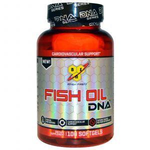 Рыбий жир, поддержка сердечно-сосудистой системы, Fish Oil, BSN, 100 капсул